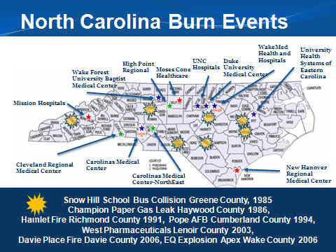 North Carolina Burn Surge Disaster Program — Winston-Salem