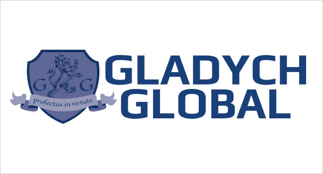 Gladych Global Logo