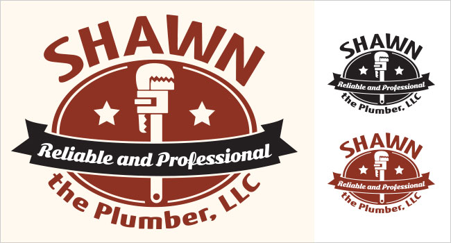Shawn The Plumber Logo
